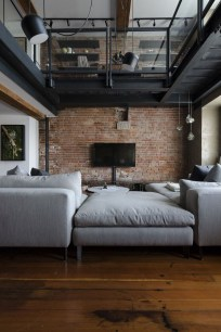 Wonderful Industrial Rustic Living Room Decoration Ideas You Have Must See02