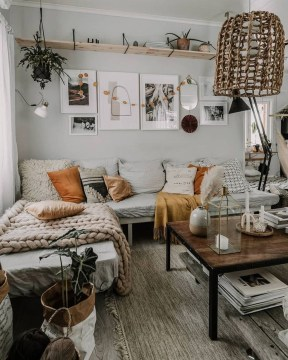 Wonderful Industrial Rustic Living Room Decoration Ideas You Have Must See18