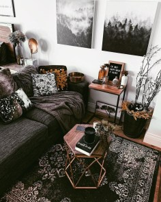 Wonderful Industrial Rustic Living Room Decoration Ideas You Have Must See19