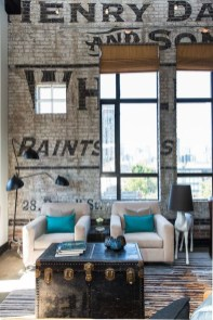 Wonderful Industrial Rustic Living Room Decoration Ideas You Have Must See21