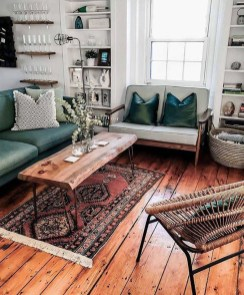 Wonderful Industrial Rustic Living Room Decoration Ideas You Have Must See23