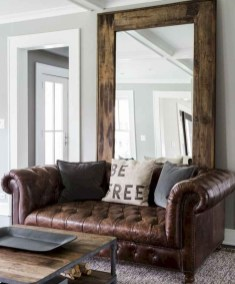 Wonderful Industrial Rustic Living Room Decoration Ideas You Have Must See37