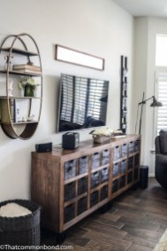 Wonderful Industrial Rustic Living Room Decoration Ideas You Have Must See38