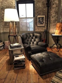 Wonderful Industrial Rustic Living Room Decoration Ideas You Have Must See41
