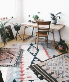 Wonderful Living Room Rug Layering Combination For Sweet Home03