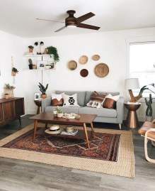 Wonderful Living Room Rug Layering Combination For Sweet Home18