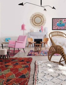 Wonderful Living Room Rug Layering Combination For Sweet Home20