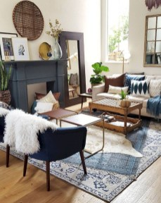 Wonderful Living Room Rug Layering Combination For Sweet Home29