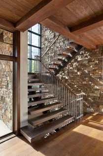 Wonderful Staircase Design Ideas That Inspires Living Room Ideas14