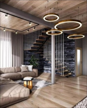 Wonderful Staircase Design Ideas That Inspires Living Room Ideas18