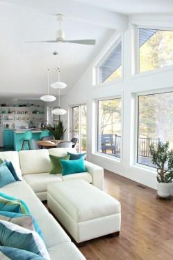 Attractive Lake House Living Room Decor Ideas26