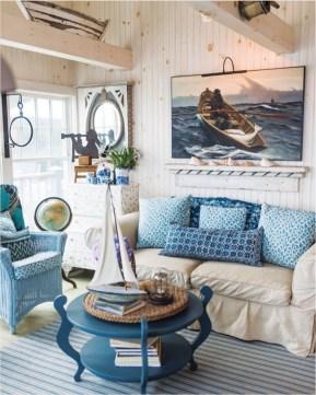 Attractive Lake House Living Room Decor Ideas35