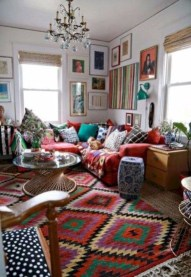 Awesome Bohemian Living Room Decor Ideas02