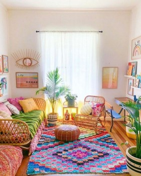 Awesome Bohemian Living Room Decor Ideas06