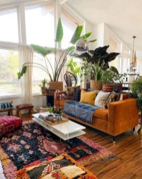 Awesome Bohemian Living Room Decor Ideas14