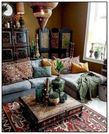 Awesome Bohemian Living Room Decor Ideas15