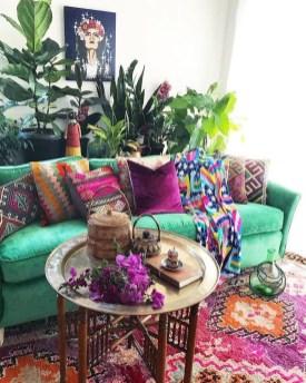 Awesome Bohemian Living Room Decor Ideas24