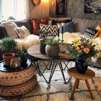 Awesome Bohemian Living Room Decor Ideas26