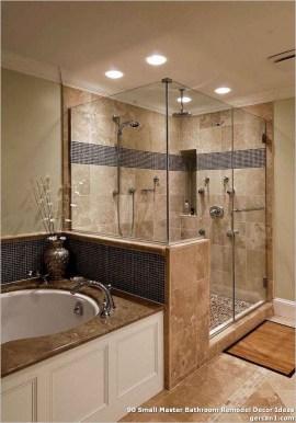 Captivating Small Master Bathroom Ideas36