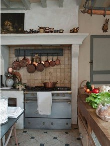 Cool French Country Kitchen Decorating Ideas02