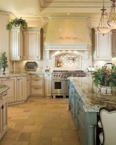Cool French Country Kitchen Decorating Ideas03