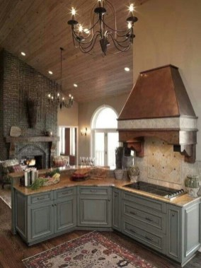 Cool French Country Kitchen Decorating Ideas06