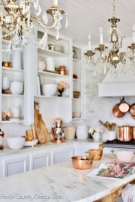 Cool French Country Kitchen Decorating Ideas12