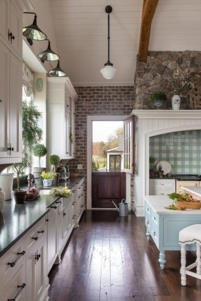 Cool French Country Kitchen Decorating Ideas15