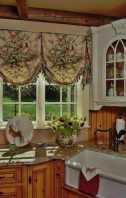 Cool French Country Kitchen Decorating Ideas18