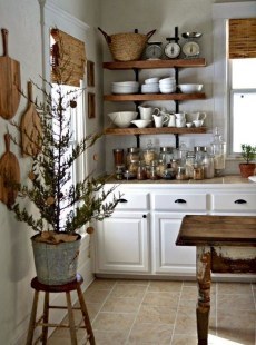 Cool French Country Kitchen Decorating Ideas29
