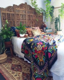 Cozy Diy Bohemian Bedroom Decor Ideas05