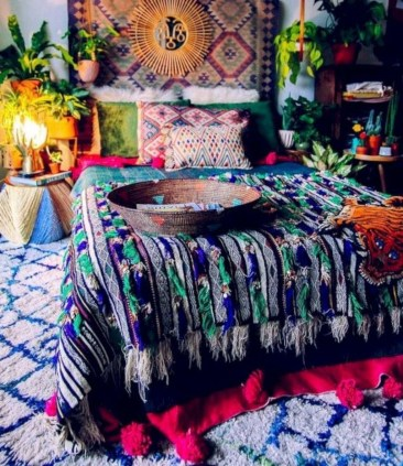 Cozy Diy Bohemian Bedroom Decor Ideas08