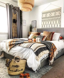 Cozy Diy Bohemian Bedroom Decor Ideas15