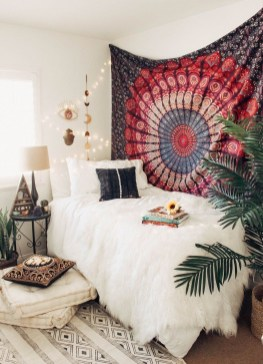 Cozy Diy Bohemian Bedroom Decor Ideas26