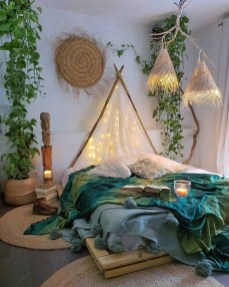 Cozy Diy Bohemian Bedroom Decor Ideas29