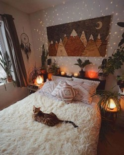 Cozy Diy Bohemian Bedroom Decor Ideas37