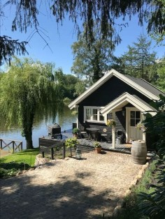 Creative Lake House Exterior Designs Ideas20