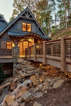 Creative Lake House Exterior Designs Ideas26