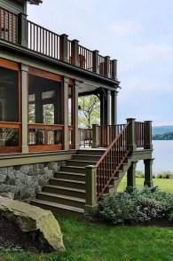 Creative Lake House Exterior Designs Ideas28