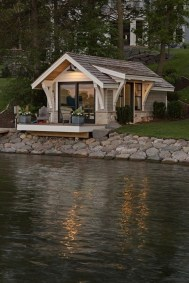 Creative Lake House Exterior Designs Ideas38