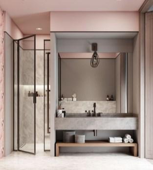 Elegant Bathroom Sink Decorating Ideas For Bathroom07