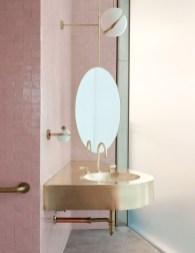 Elegant Bathroom Sink Decorating Ideas For Bathroom14