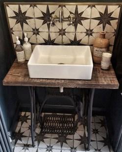Elegant Bathroom Sink Decorating Ideas For Bathroom18
