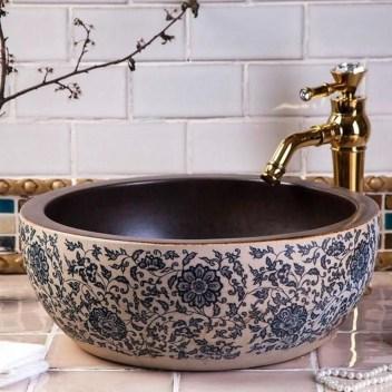 Elegant Bathroom Sink Decorating Ideas For Bathroom25