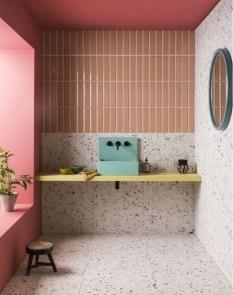 Elegant Bathroom Sink Decorating Ideas For Bathroom32