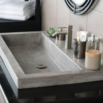 Elegant Bathroom Sink Decorating Ideas For Bathroom45