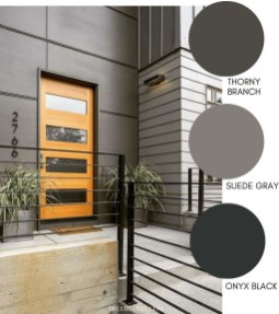 Incredible Homes Decorating Ideas With Black Exteriors10