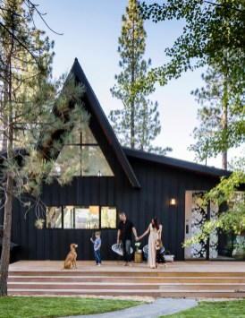 Incredible Homes Decorating Ideas With Black Exteriors18