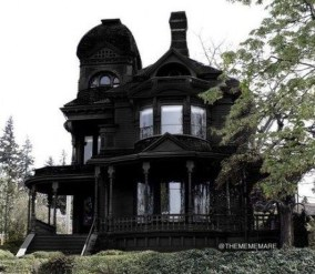 Incredible Homes Decorating Ideas With Black Exteriors23