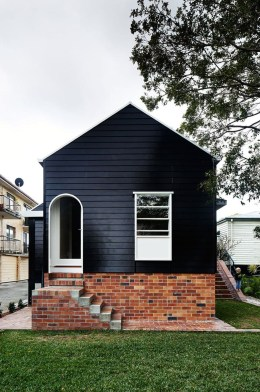 Incredible Homes Decorating Ideas With Black Exteriors25